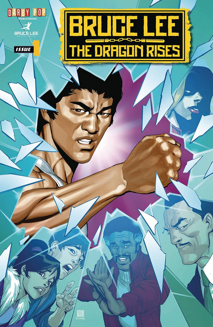 Bruce Lee: The Dragon Rises Issue 1, Cover A by Bernard Chang (2016)