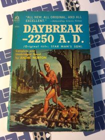 Daybreak 2250 A.D. (Star Man's Son) – Vintage Ace SF, D-534 (1961)