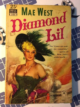 Diamond Lil Paperback Mass Market Edition (Dell Mapback, 525) 1951