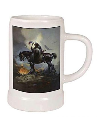 Dark Horse Deluxe Frank Frazetta: Death Dealer Ceramic Stein