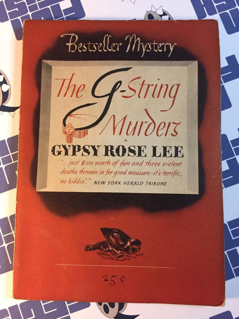 The G-String Murders by Gypsy Rose Lee (Bestseller Mystery, No. B42)