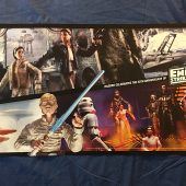 Hasbro 30th Anniversary Star Wars: The Empire Strikes Back Double-Sided 30 x 16 inch Poster (2010)