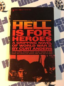 Hell is for Heroes Paperback Edition, J2379 (1962)