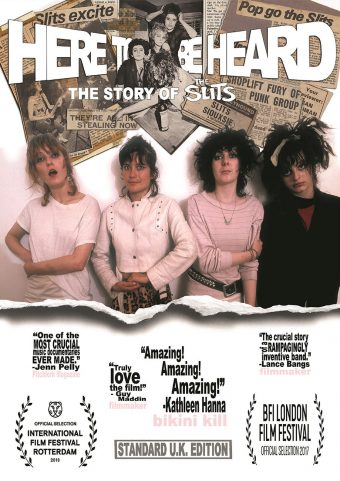 Here To Be Heard: The Story of the Slits DVD Special Edition