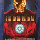Iron Man 18.25 x 27 inch Mini Poster San Diego Comic Con (SDCC) Convention Exclusive (2008)