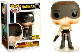 Funko Mad Mad: Fury Road POP Movies Charlize Theron as Imperator Furiosa Vinyl Figure Number 508
