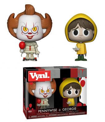 It – Bill Skarsgård as Pennywise + Jackson Robert Scott as Georgie Vinyl Collectibles Set Funko Vynl