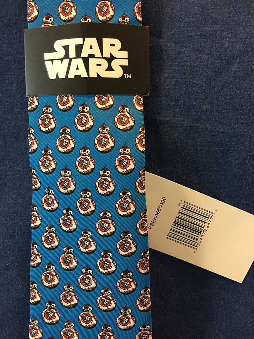 Star Wars: The Force Awakens BB8 Pattern Necktie