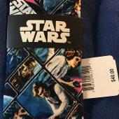 Star Wars Universe Classic Poster Style Necktie