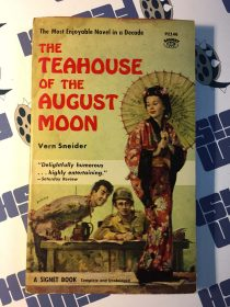 The Teahouse of the August Moon Paperback Edition (1964, Signet P2146)