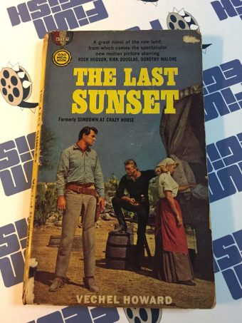 The Last Sunset (movie tie-in edition, 1961) – Gold Medal s1121