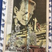 The Monster Times Volume 1 Number 1 Including Centerfold Poster by Bernie Wrightson (January 26, 1972)