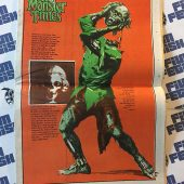 The Monster Times Volume 1 Number 11 with Planet of the Apes Poster Insert (June 14, 1972)