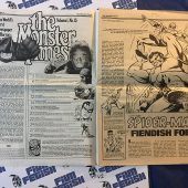 The Monster Times Volume 1 Number 13 with Spider-Man Poster Insert (July 19, 1972)