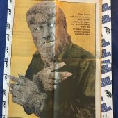 The Monster Times Volume 1 Number 14 with Wolf Man Poster Insert (July 31, 1972)
