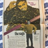 The Monster Times Volume 1 Number 2 Including Centerfold Poster by Gray Morrow (February 16, 1972)