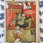 The Monster Times Volume 1 Number 3 Including Centerfold Poster of King Kong (March 1, 1972)