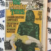 The Monster Times Volume 1 Number 5 Including Cover by N. Ominous (March 29, 1972)