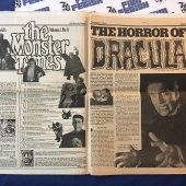 The Monster Times Volume 1 Number 8 Including Dracula Poster Insert (May 10, 1972)