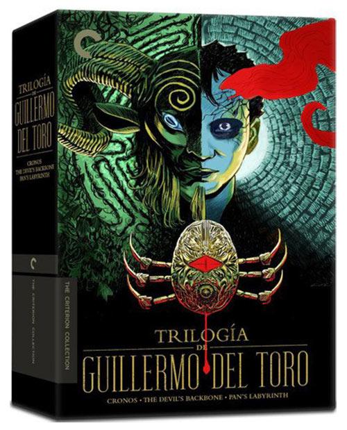 Trilogia de Guillermo del Toro Criterion Collection