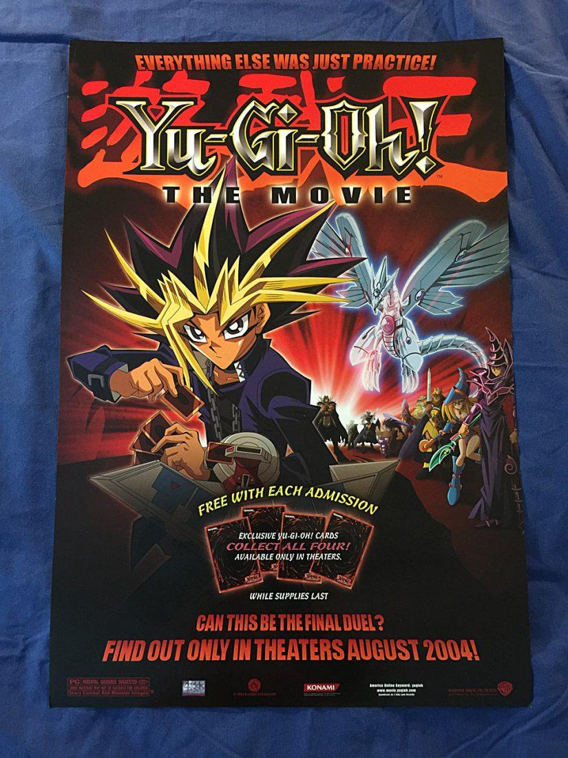 Yu Gi Oh!: The Movie U2013 Pyramid Of Light 17 X 25 Inch Poster (2004)