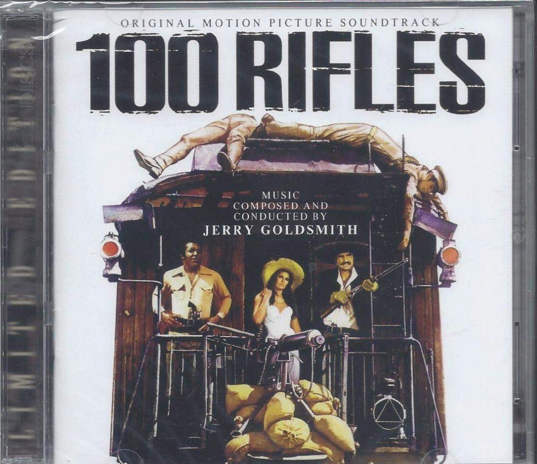 100 Rifles / Rio Conchos Original Motion Picture Soundtrack Limited Edition 2-CD Set