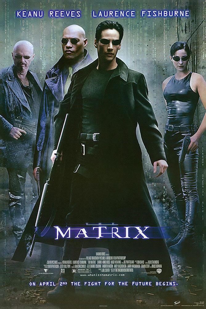 The Matrix 24 x 36 inch Movie Poster (1999)