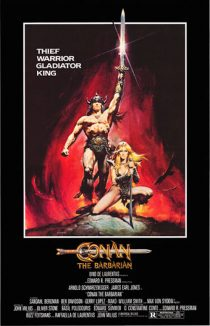 Conan the Barbarian 24 x 36 inch Movie Poster