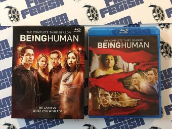 Being Human The Complete Third Season 4-Blu-ray Box Set