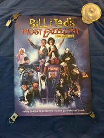 Bill and Ted's Most Excellent Collection Limited Edition 18 x 24 inch Promotional Poster