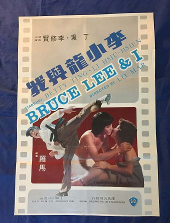 Bruce Lee and I Original 21 x 30 inch Movie Poster