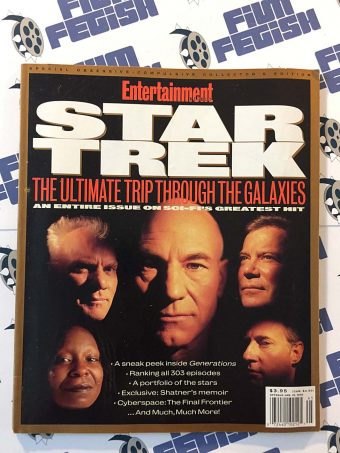 Entertainment Weekly Collector's Edition Special Star Trek Magazine Fall 1994
