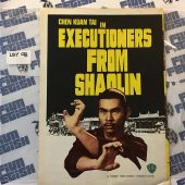 Executioners from Shaolin Foldout Press Ad Flyer – Shaw Brothers (1977) [LBY08]