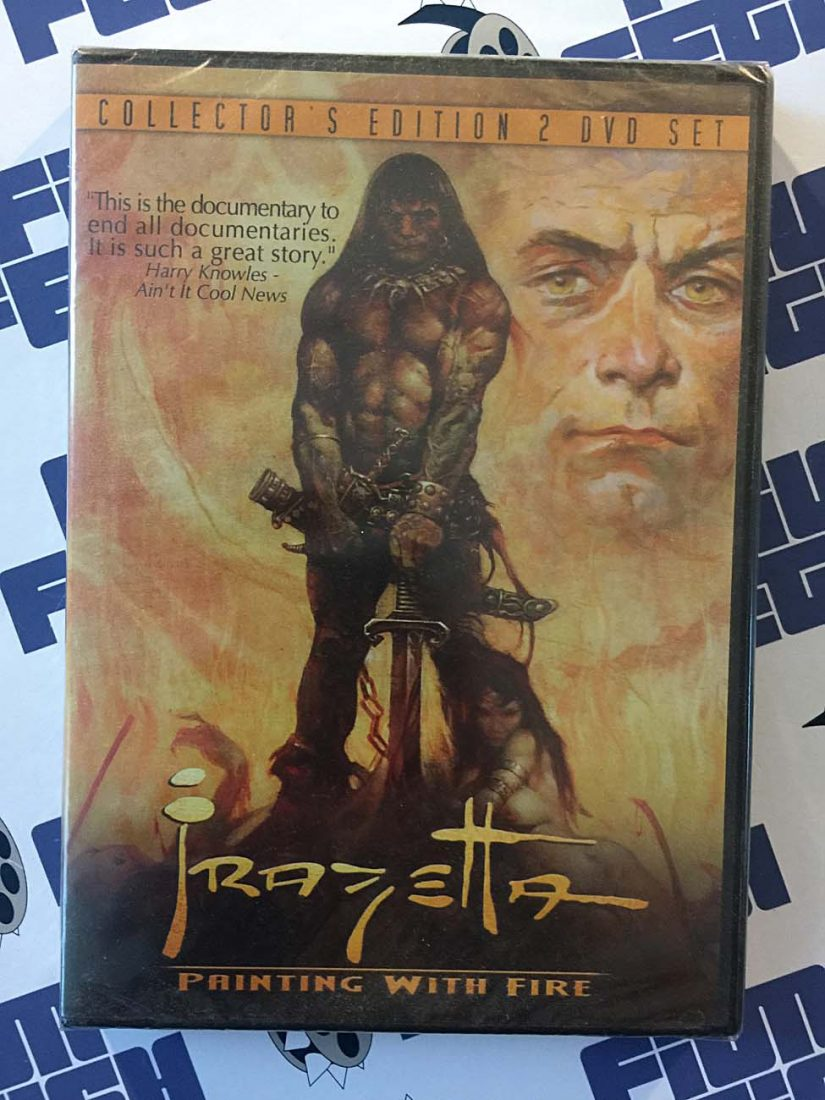 Frank Frazetta Painting with Fire (2003)