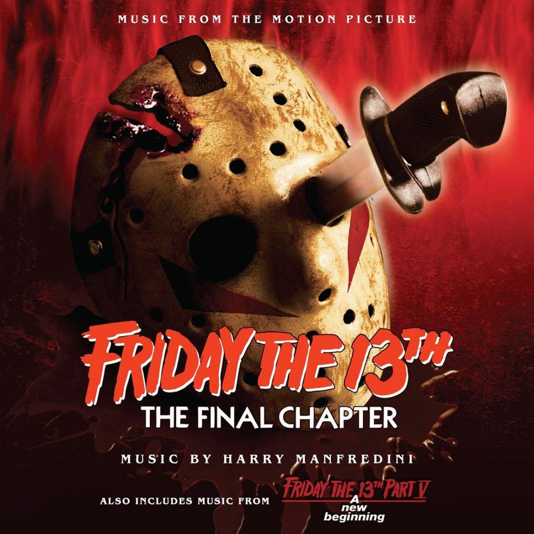 Friday the 13th Parts 4 and 5 Soundtrack Limited Edition 2-CD Set