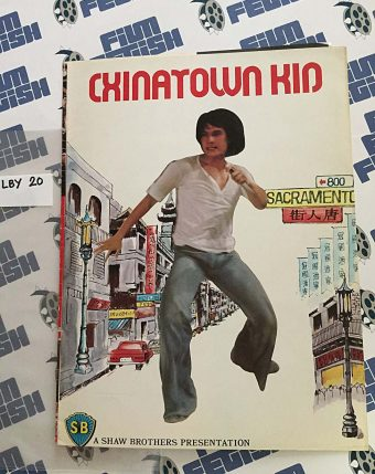 Chinatown Kid Press Booklet – Shaw Brothers (1977)