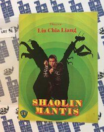 Shaolin Mantis Original Press Booklet – Gordon Liu, Shaw Brothers (1978) LBY32