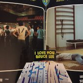 I Love You, Bruce Lee Oversized Press Flyer (1976)