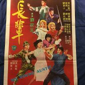 My Young Auntie (a.k.a. Fangs of the Tigress) 21 x 31 inch Original Shaw Brothers Movie Poster (1981)