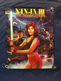 Ninja III: The Domination Limited Edition Promotional Poster