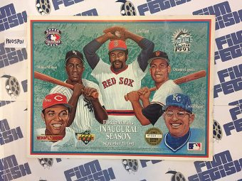 Florida Marlins Inaugural Season Upper Deck Baseball Heroes Limited Edition Collage Print (1993) [PHOSP01]