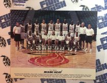 Miami Heat 1993-1994 Original Team Photo – John Salley, Steve Smith, Glen Rice [PHOSP02]