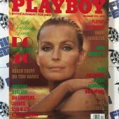 Playboy December 1994 Bo Derek A Perfect 40 Pictorial Kristina Elliott