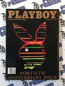 Playboy Magazine January 1994 Fortieth Anniversary Collector's Edition Issue