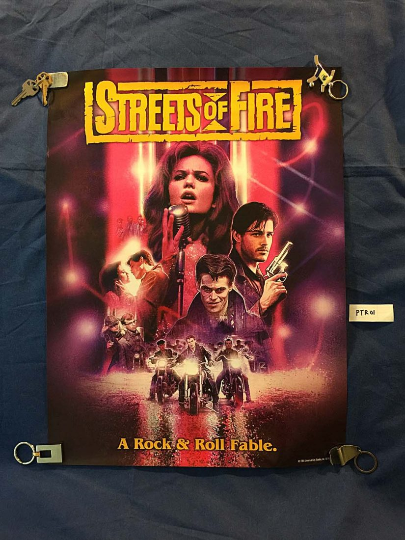 Streets of Fire Limited Edition 18 x 24 inch Collector Poster