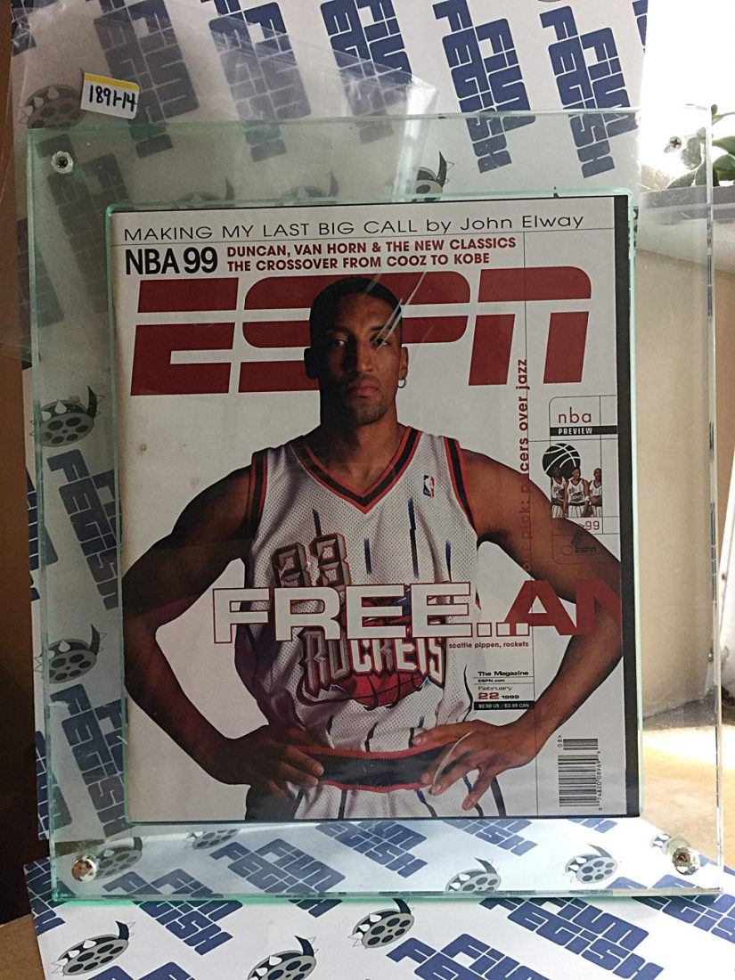 ESPN Magazine Scottie Pippen Cover (February 1999) [189114]