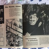Famous Monsters of Filmland Bella Lugosi Dracula Tribute #92 Sept. 1972 [189123]
