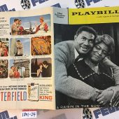 Playbill Magazine A Raisin in the Sun at Ethel Barrymore Theatre (Sept. 1959) [189124]