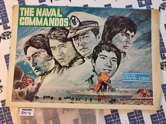The Naval Commandos Movie Press Program Shaw Brothers Chang Cheh (1977)
