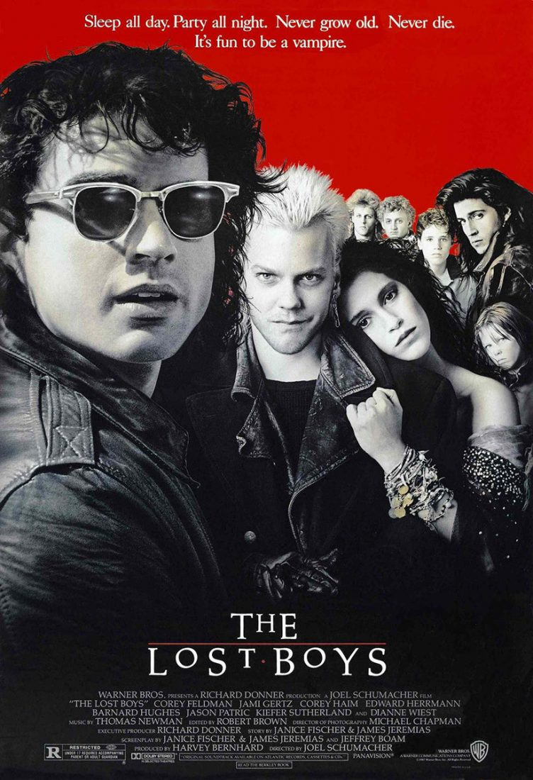 The Lost Boys 24 x 36 inch Movie Poster (1987)